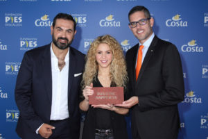 """Shakira's Fundación """"Pies Descalzos"""" and Costa Cruises together for the construction of a school in Colombia"""