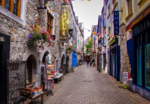 Kirwans Lane - Galway, Ireland (Courtesy Travel Guide Ireland - blog.galwaytourism.ie)